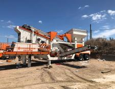 Constmach vibrating screen MOBILE SCREENING AND WASHING PLANT FOR SALE