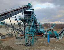 Constmach vibrating screen STATIONARY TYPE GRAVEL SCREENING AND WASHING PLANT