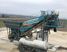 Constmach concrete plant 30 m3/h MOBILE CONCRETE PLANT FROM EUROPE S BEST SELLER MANUFACT