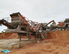 Constmach mobile crushing plant MOBILE CRUSHING PLANT FOR HARD ROCK PROCESS   READY AT STOCK