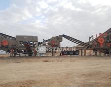 Constmach crushing plant MOBILE JAW and IMPACT CRUSHER, SUITABLE FOR MIDDLE HARD ROCK PRO