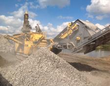 Rubble Master crushing plant RM 80