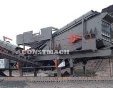 Constmach crushing plant DELIVERY FROM STOCK, 250 tph CAPACITY MOBILE JAW AND IMPACT CRUS