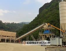 Constmach concrete plant DELIVERY FROM STOCK! 100 m3/h CAPACITY FIX TYPE CONCRETE PLANT F