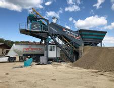 Constmach concrete plant CALL NOW! 60 m3/h MOBILE CONCRETE PLANT, READY FOR DELIVERY