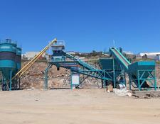 Constmach concrete plant 100 m3/h MOBILE CONCRETE PLANT, 2 YEARS WARRANTY, CE CERTIFIED