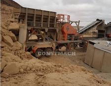Constmach crushing plant PREMIUM QUALITY, 250 tph CAPACITY MOBILE CRUSHING PLANT