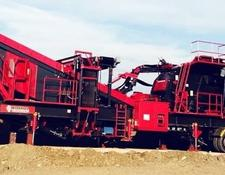 Constmach crushing plant 250 tph CAPACITY MOBILE PRIMARY IMPACT CRUSHER