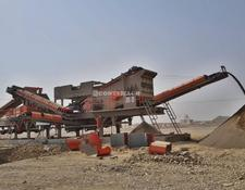 Constmach crushing plant 250-300 tph CAPACITY PORTABLE CRUSHING & SCREENING PLANT