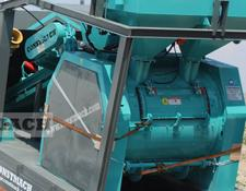 Constmach concrete plant SINGLE SHAFT CONCRETE MIXERS, 2 YEARS WARRANTY