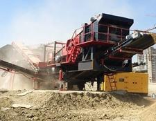 Constmach crushing plant 150 tph CAPACITY MOBILE LIMESTONE CRUSHING PLANT
