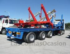 Floor platform semi-trailer FLO-10