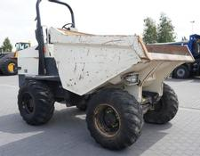 Terex mini dumper TA 9 1300 MTH ! like NEW , mini dumper , capacity 9,000kg , 4x4