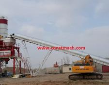 Constmach concrete plant 160 m3/h CAPACITY – 2 YEARS WARRANTY, PREMIUM QUALITY