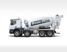 Stetter concrete mixer truck AM 12C Basis Line