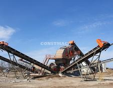 Constmach crushing plant 100-150 tph SAND SCREENING AND WASHING PLANT