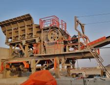 Constmach crushing plant 120-150 tph CAPACITY MOBILE JAW CRUSHER