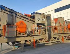 Constmach crushing plant MOBILE CRUSHING PLANT   50-60 ton per hour CAPACITY