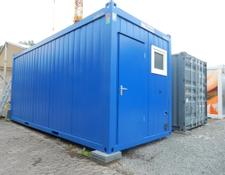 CONTAINEX Bürocontainer 6m mit sep. WC